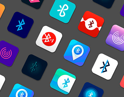 Icon bluetooth application Ios