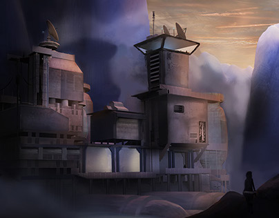 Concept Art: Research Outpost
