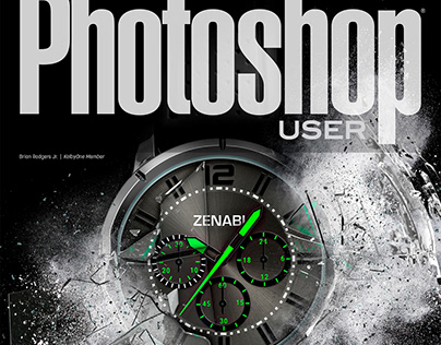 Featured on Photoshop User Magazine Cover