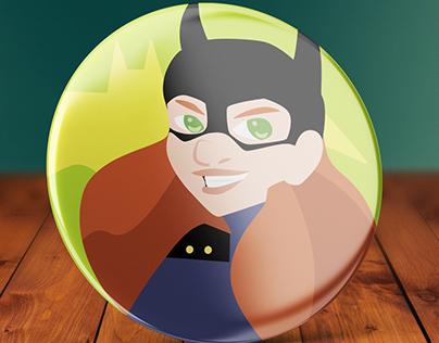 Super Hero Buttons