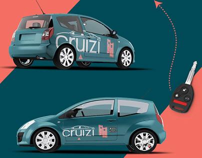 Branding Identity Design for Car Rental App.