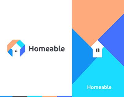 Modern home logo ,real estate logo,house logo,Home logo