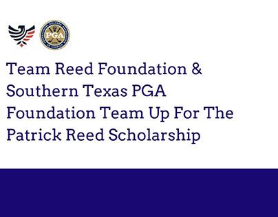 The Patrick Reed Scholarship