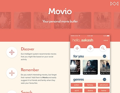 Movio - Your personal movie butler