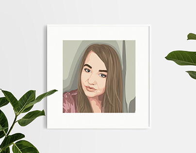 Арт портрет по фото
