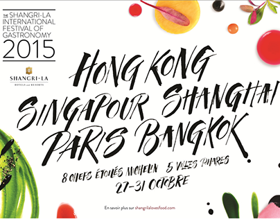 Shangri-La International Festival of Gastronomy Website