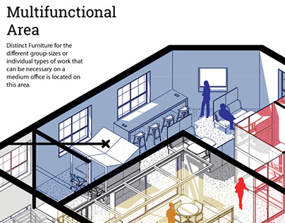 CRC Office - Performative Space Interior Design