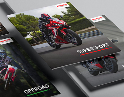 Honda Motorcycles Europe Catalogs