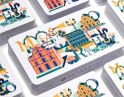 Package Design of RegencyNew Mario Cookies
