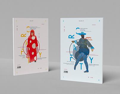 Crafty Magazine Design Layout