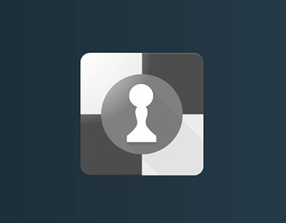 Material design chess icon