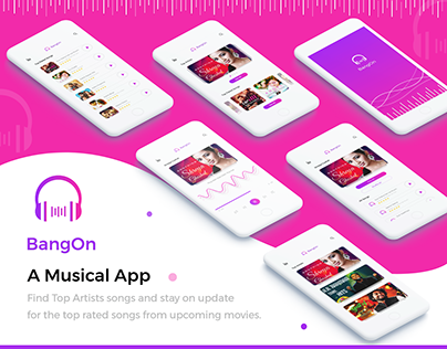 BangOn - A Music App