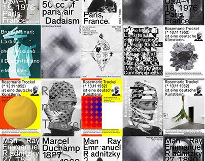 Poster Series 2018–2019