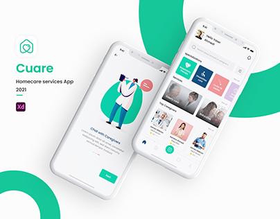 Cuare | UXUI Mobile App