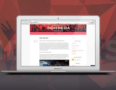 INDIENESIA - A MUSIC.LIFE - Wordpress Blog