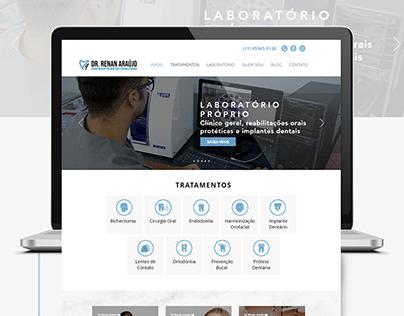 Template Site -Odontologia - Clínica Dr. Renan Araújo