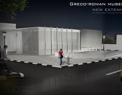 Greco-Roman museum in Alexandria New extension