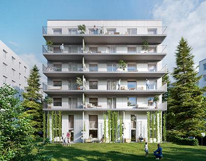 Residental complex, Sweden