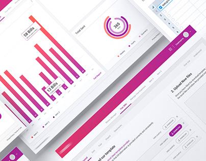 UX UI Fintech Application