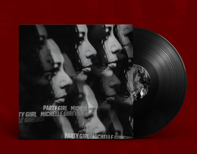 Album Cover Design for Michelle Gurevich's Party Girl