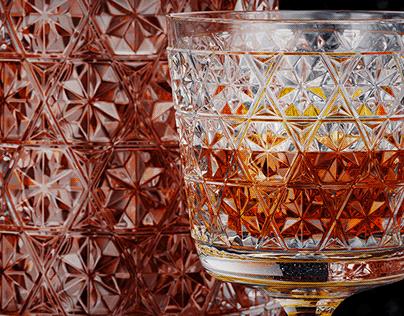 Glass Bottle Whiskey