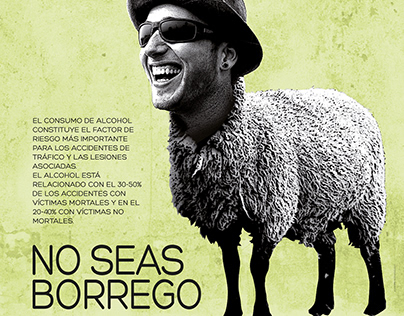 No seas borrego.