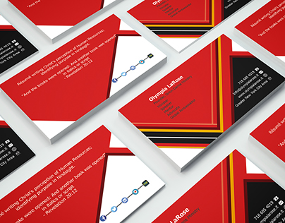 professional, modern, double sided BUSINESSCARD
