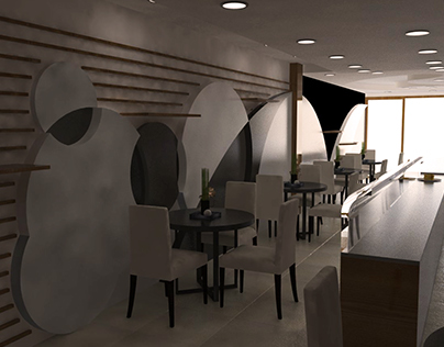 So Good Waffle Alsancak- Interior design and Renders.