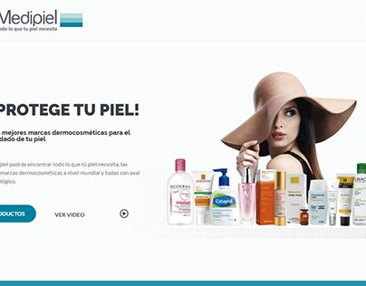 Sitio Web: Medipiel