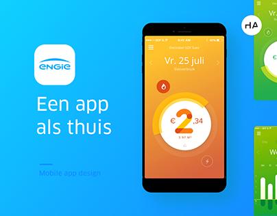ENGIE Electrabel - App UX/UI