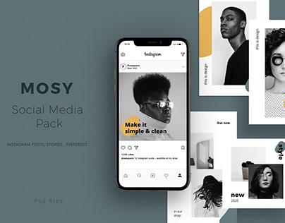 MOSY - Social Media Pack