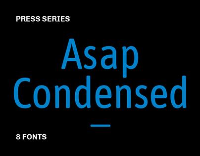 Asap Condensed [Press Series]