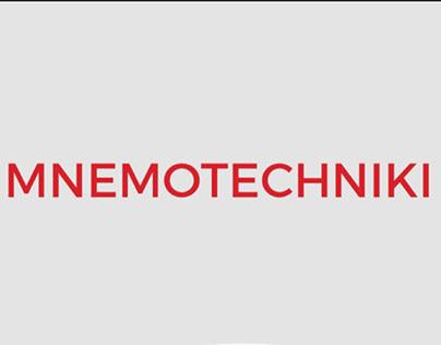 Poster Mnemotechnics for psychological institution