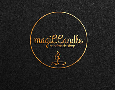 magiCCandle Logo Design