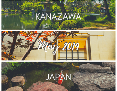 Kanazawa, Japan - May 2019
