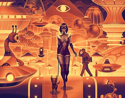The Egyptian Lover - Alien Freak