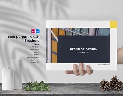 Multipurpose Clean Brochure