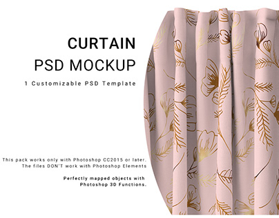 NEW FOR CREATIVE MARKET 8 CURTAIN CLOSE-UP