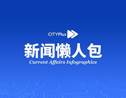 CITYPlus FM Domestic and Global News Infographics