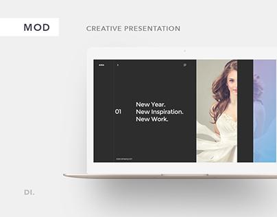 AIDA - FREE Presentation Template