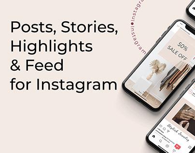 Social Media Pack   Упаковка Instagram