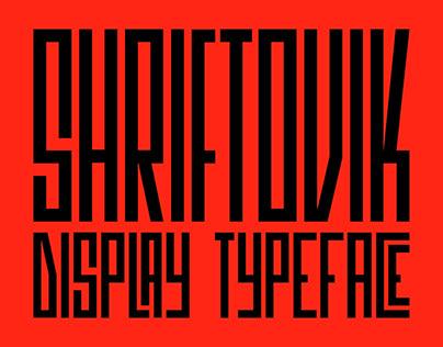 SK Shriftovik — Free Font