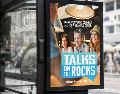 Talks on the Rocks Brand Identity