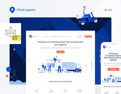 Logistics services provider - UX/UI design