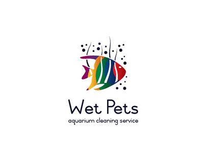 Wet Pets Logo Design