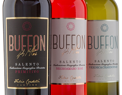 Gigi Buffon #1 - wines labels