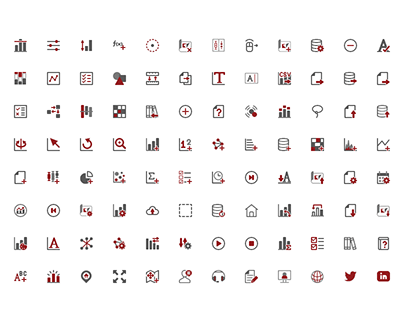 Vector Icons for Software UI