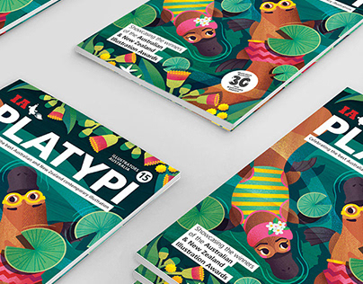 Illustrators Australia resource book PLATYPI 15