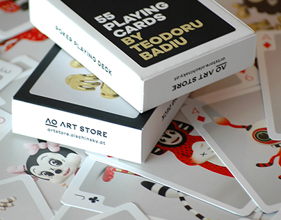 Poker Playing Cards Deck