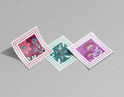 Postage Stamps Mock-Ups Vol.2